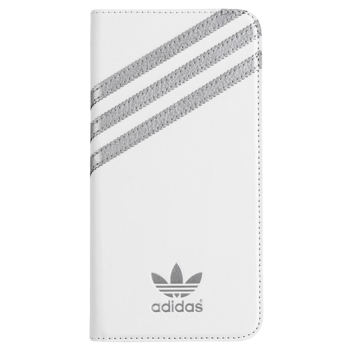 77a20f99e0 【取扱終了製品】adidas Originals Booklet Case iPhone 6 Plus White/Silver