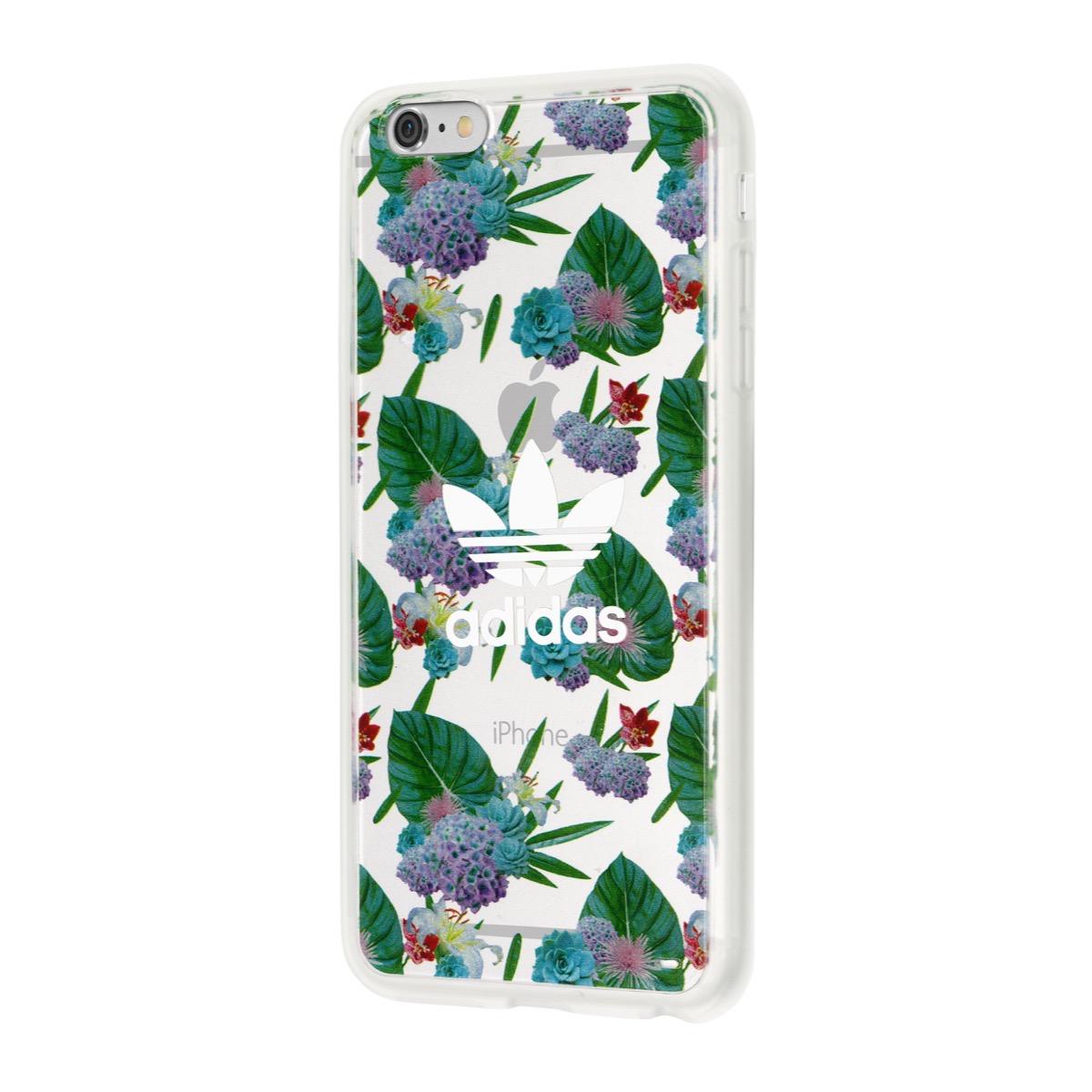 1f06e94010 【取扱終了製品】adidas Originals Clear Case iPhone 6s Plus Flower White