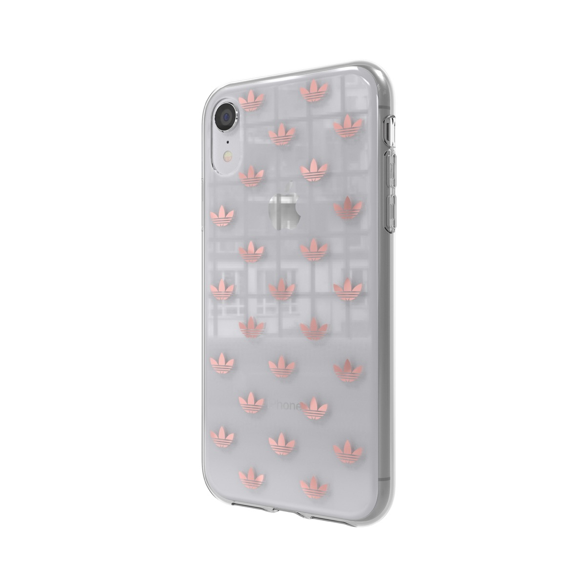 dccb07ace2 adidas Originals Clear Case SS19 iPhone XR Rose Gold